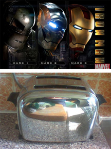 What does Iron Man and this toaster have in common?